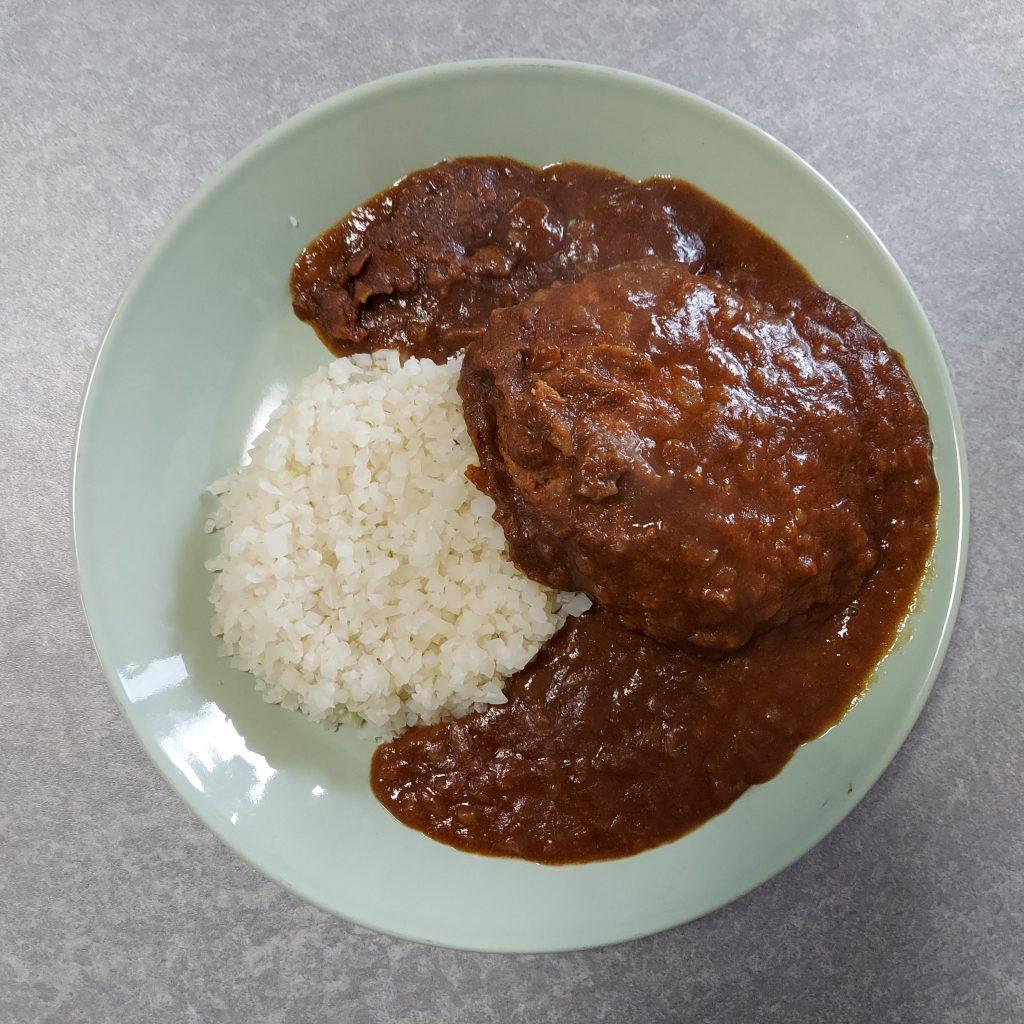 2021年2月12日 磯山商事 矢野通PRESENTSハンバーグ コク旨チーズソースカレー