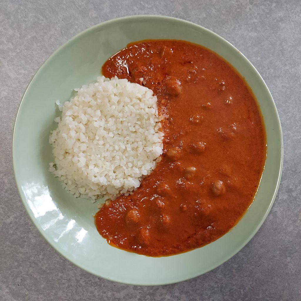 2021年3月16日 アイデアパッケージ THE女子CURRY トマト味わうひよこ豆とチキンのキーマカレー